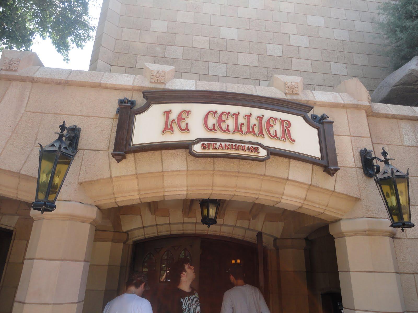 The florida dine and dash le cellier justifable cuisine legend - Cellier cuisine ...