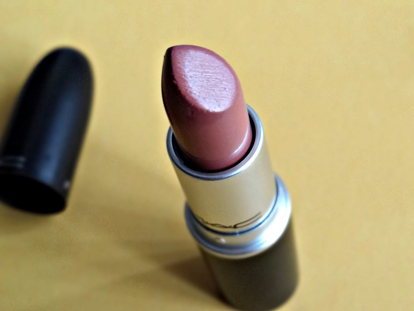 MAC Cremesheen Lipstick in Modesty Review, Photos & Swatches