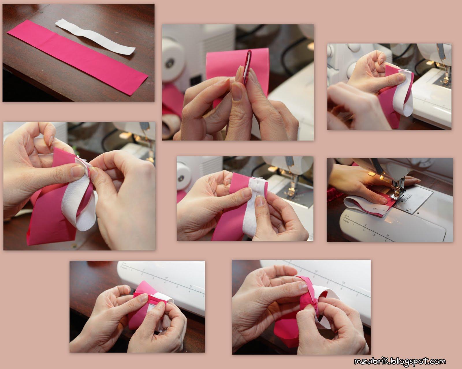Как сделать манжет на резинке