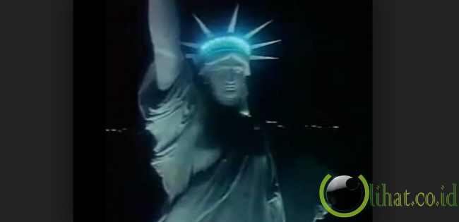 Menghilangkan Patung Liberty