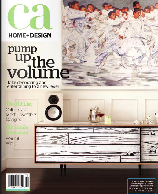 Ca Home Design Magazine Vanessa De Vargas Featured