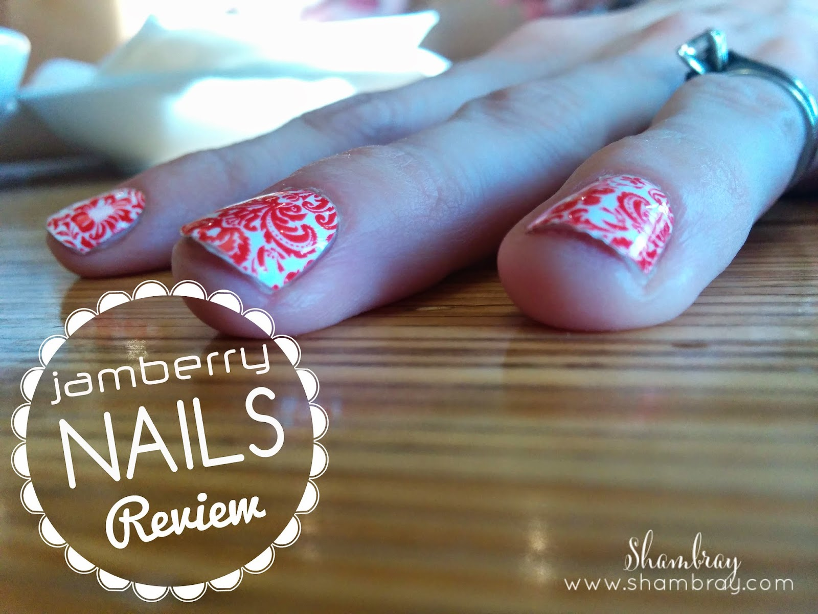 Shambray: Jamberry Nails Review