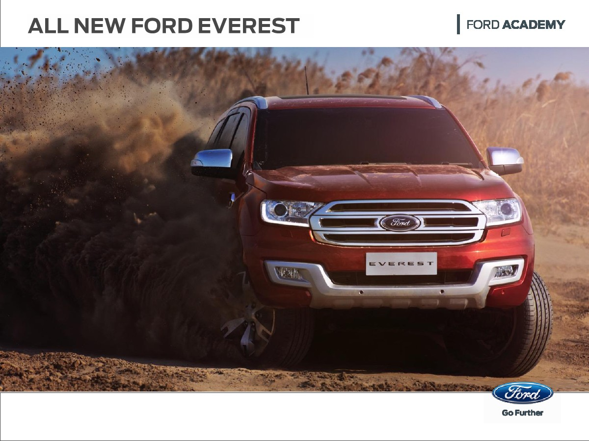 FORD SURABAYA: ALL NEW EVEREST (OPEN INDEN) on