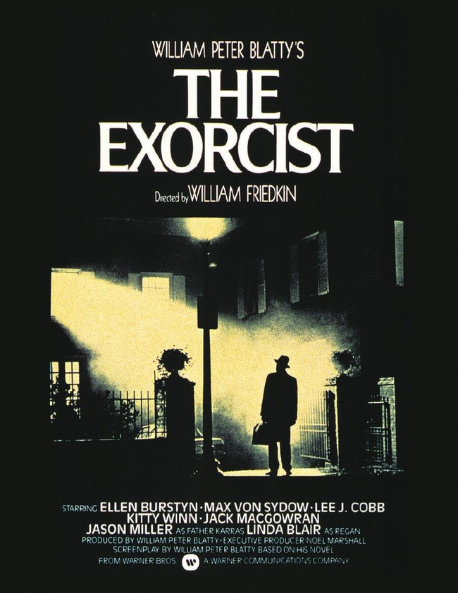 Image result for affiche de l'exorciste