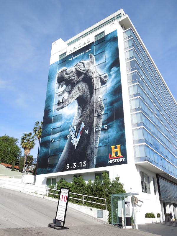 Giant Vikings History billboard