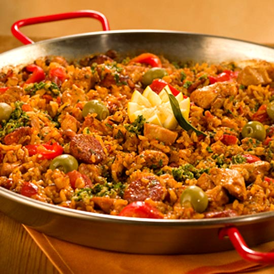 Filipino Chicken Paella Recipe