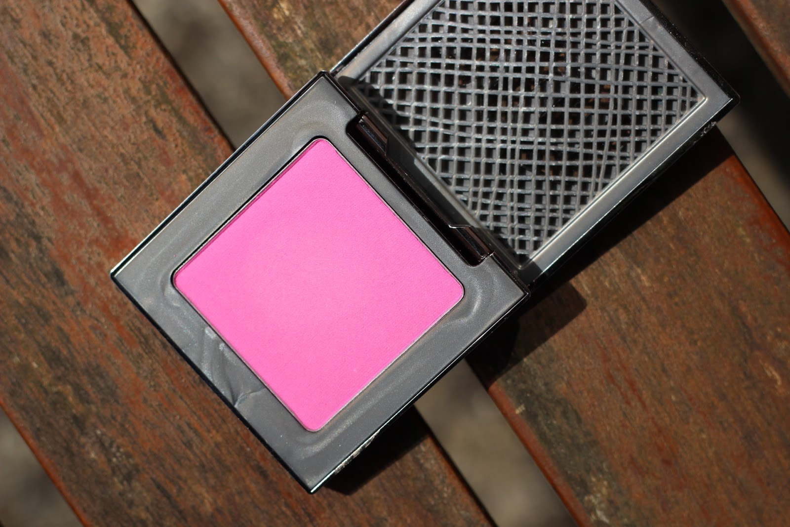 Urban Decay Afterglow 8 Hour Powder Blush Quickie Swatch
