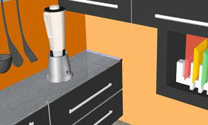 Orange Kitchen Escape