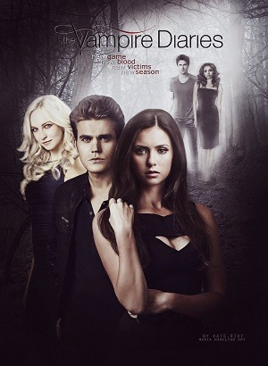 The Vampire Diaries - Diários de um Vampiro - 6ª Temporada Séries Torrent Download capa