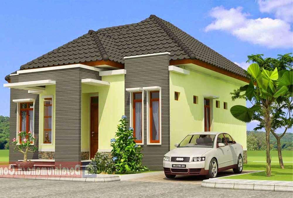 contoh rumah sederhana tapi mewah untuk refrensi awal