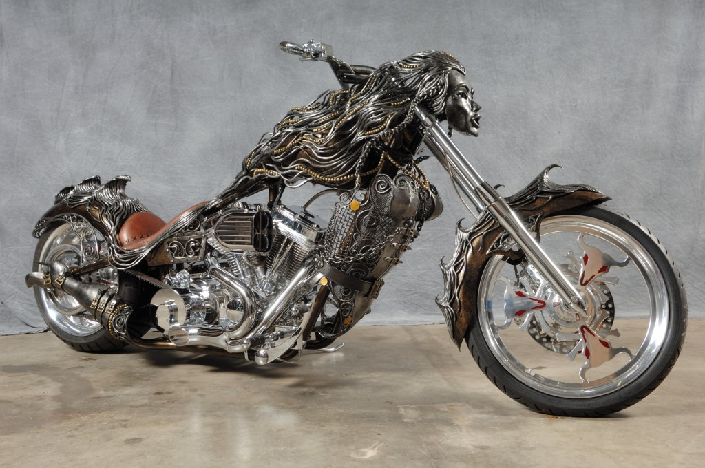 Amazing metal art sculptures extremely weird stuff