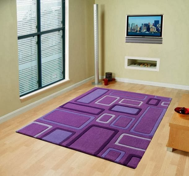 Purple Area Rugs