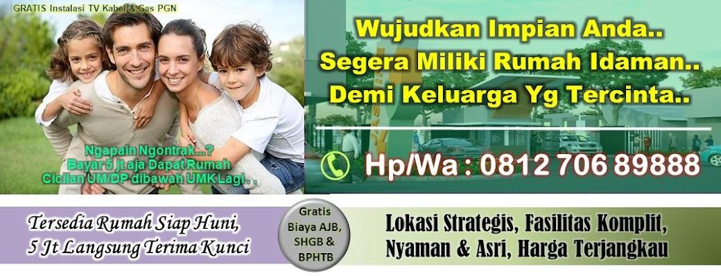 Hp 0812 706 89888 (Simpati) - unt Info Tunas Regency (Rumah/Ruko)