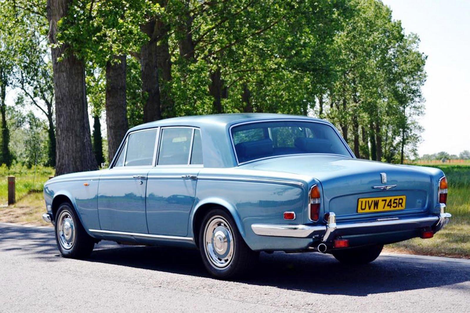 Rolls Royce Silver Shadow I Caribbean Blue 1976 Rolls
