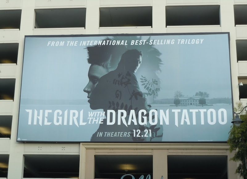 The Girl with the Dragon Tattoo billboard 2011