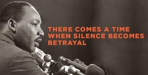 EN FÖRRÄDARE TIGER: MLK