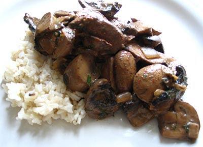 Mushrooms Paprika (Houby Paprikas)