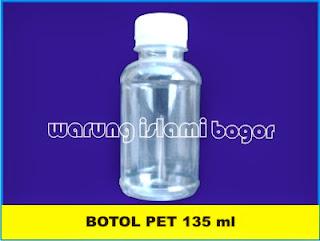 Botol LAbor bening 135 ml