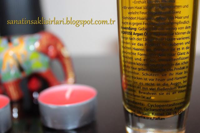 Morfose Argan Oil Hair Treatment / Argan Yağı Saç Tedavisi