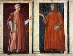 Andrea del Castagno 1421-1457 Dante e Petrarca 1450 circa
