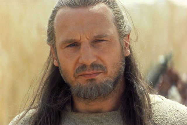 Image result for the phantom menace qui gon jinn