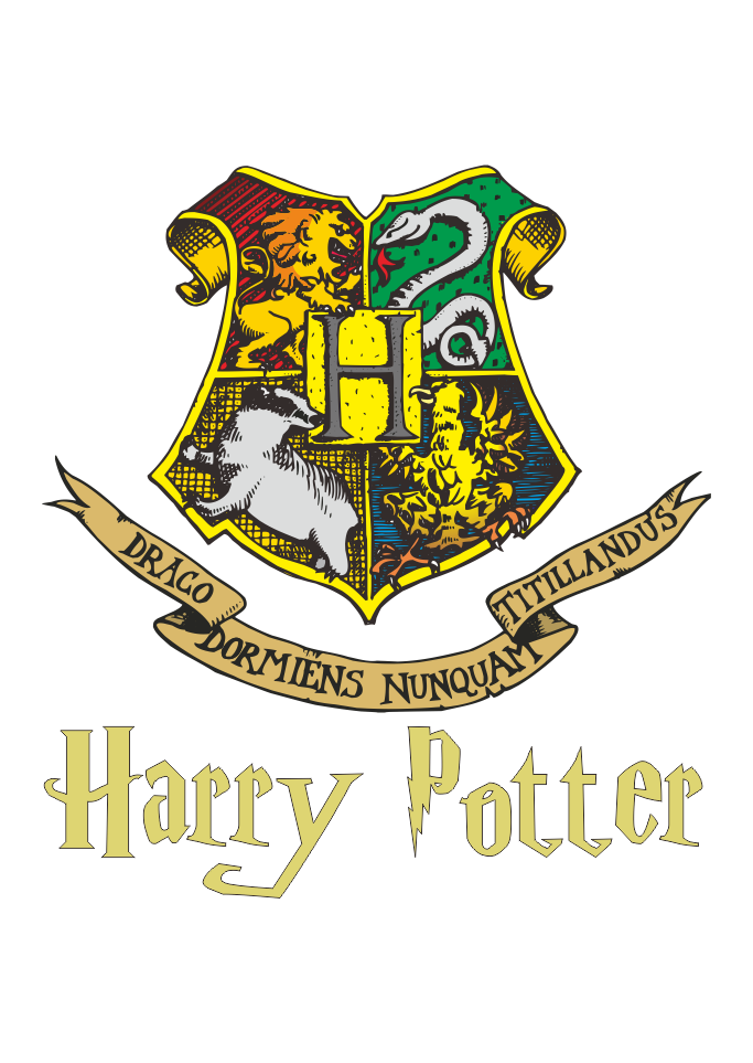 Download Logo Hogwarts Harry Potter Vector