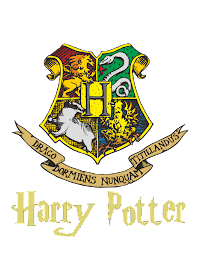 Hogwarts Harry Logo Vector download free