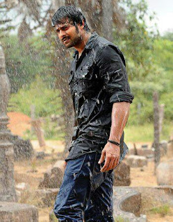 Prabhas stills in Mirchi movie, Prabhas images from latest movie Mirchi ,Prabhas Mirchi movie working stills