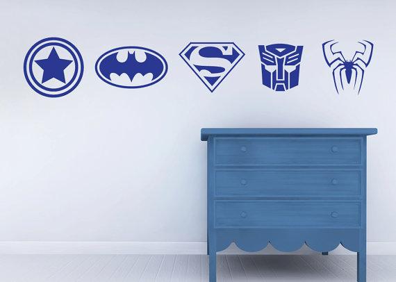 Best Superhero Wall Vinyl
