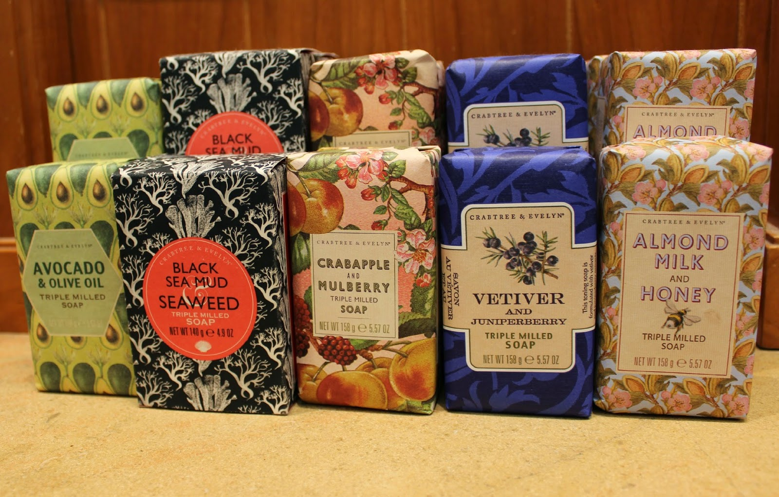 A picture of Crabtree & Evelyn Soaps