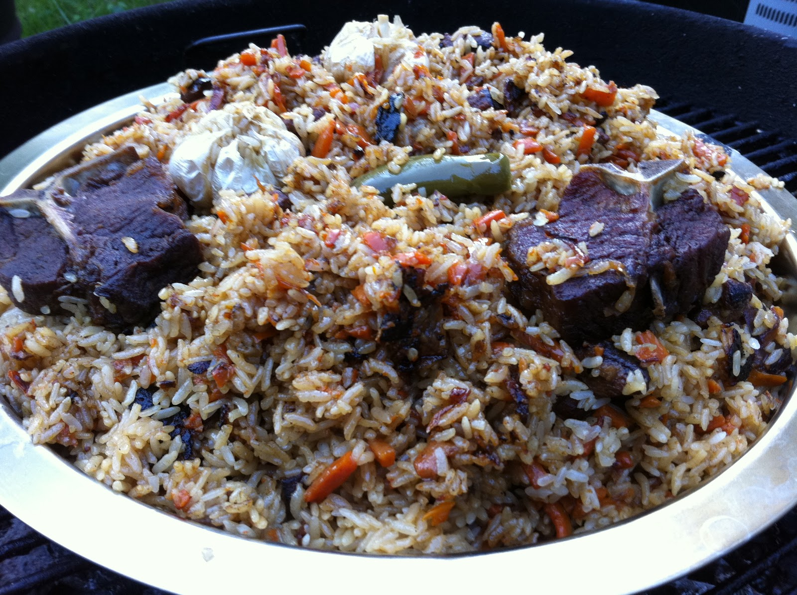Ferganskiy Plov - Traditional Uzbek Pilaf - Authentic Kebabs