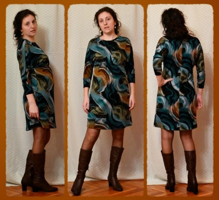 amazing jersey maternity dress