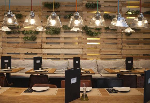 Marzua Un Decorado Con Materiales Reciclados Restaurante