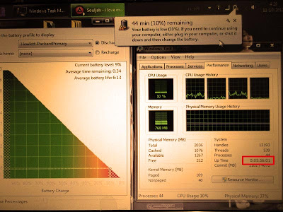 Review Baterai Netbook HP Mini Setelah 1 Tahun Pemakaian