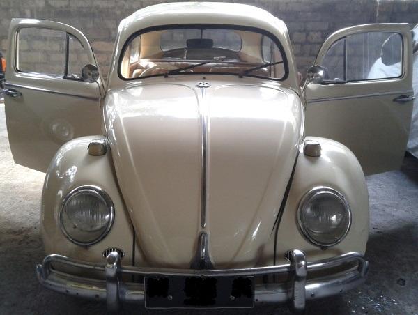 Dijual mobil VW kodok oval tahun 1957