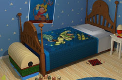 Blue Kids Room