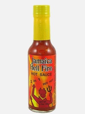 Jamaica Hellfire 2 in 1 Hot Sauce
