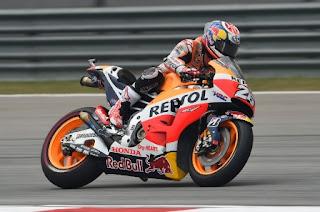 Pedrosa Pole Position MotoGP Malaysia 2015