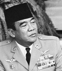 Sukarno. Lider revolucionario de Indonesia