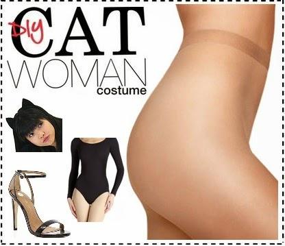 DIY catwoman costume