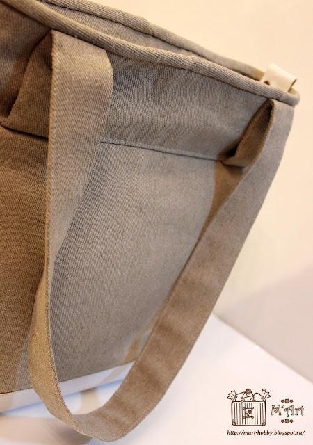 Задняя сторона сумки
