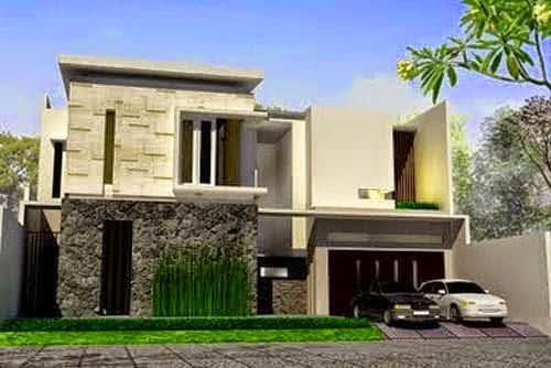 model rumah minimalis Modern Gaya Eropa