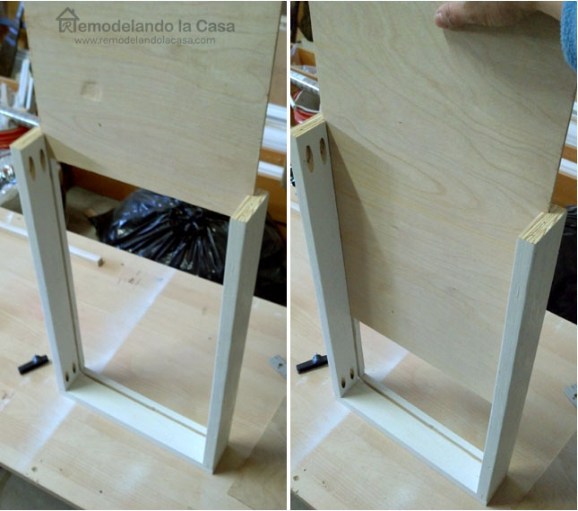 DIY Drawers With Side Slides