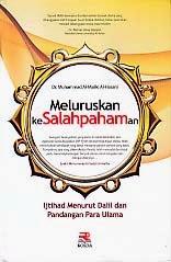 toko buku rahma: buku MELURUSKAN KESALAHPAHAMAN, pengarang al maliki, penerbit rosda