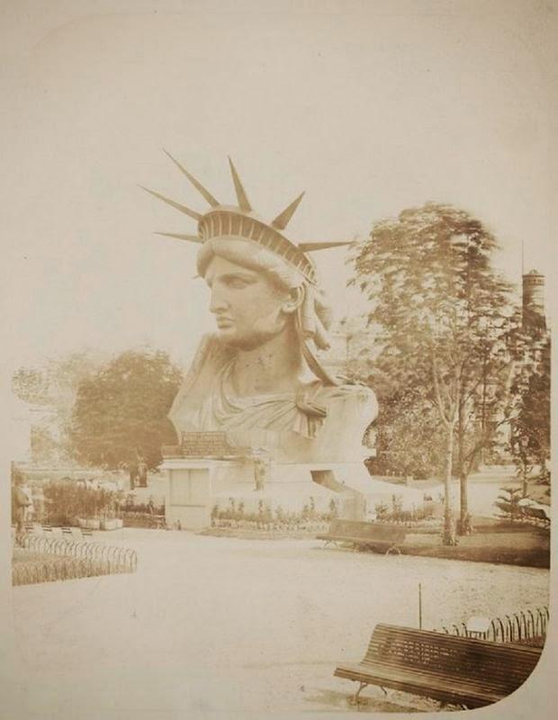 Como se construyó la estatua de la libertad. Construccion-estatua-libertad+%25287%2529