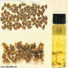زيوت طبيعيه  ,زيت بذره الكتان,علبه معباه بزيت ,بذور , ,http://www.sihati.com/2013/10/Flax-seed-oil-.html