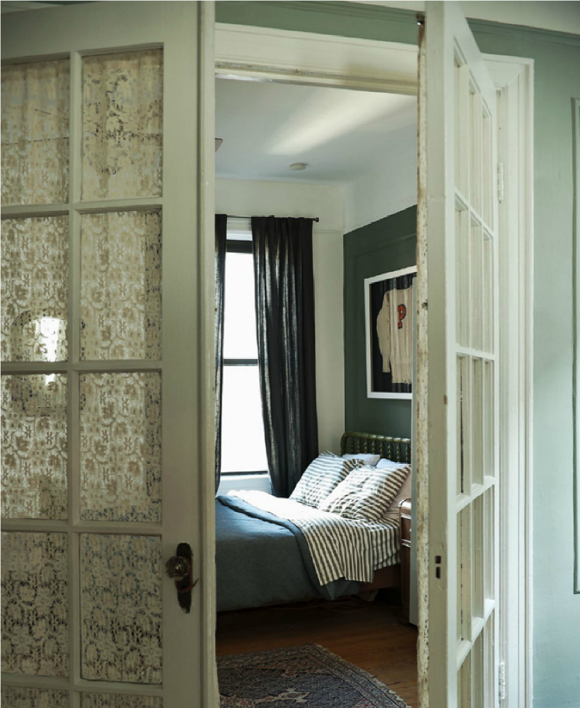 Bedroom Door: An East Village Apartment By The Novogratz