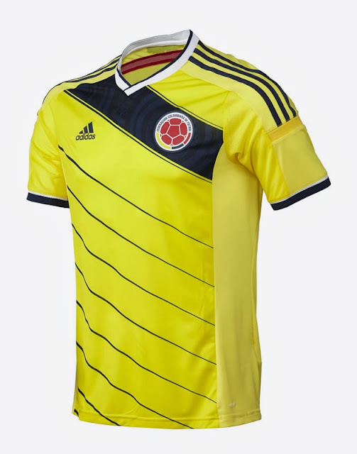Colombian Federation kit for 2014 FIFA World Cup