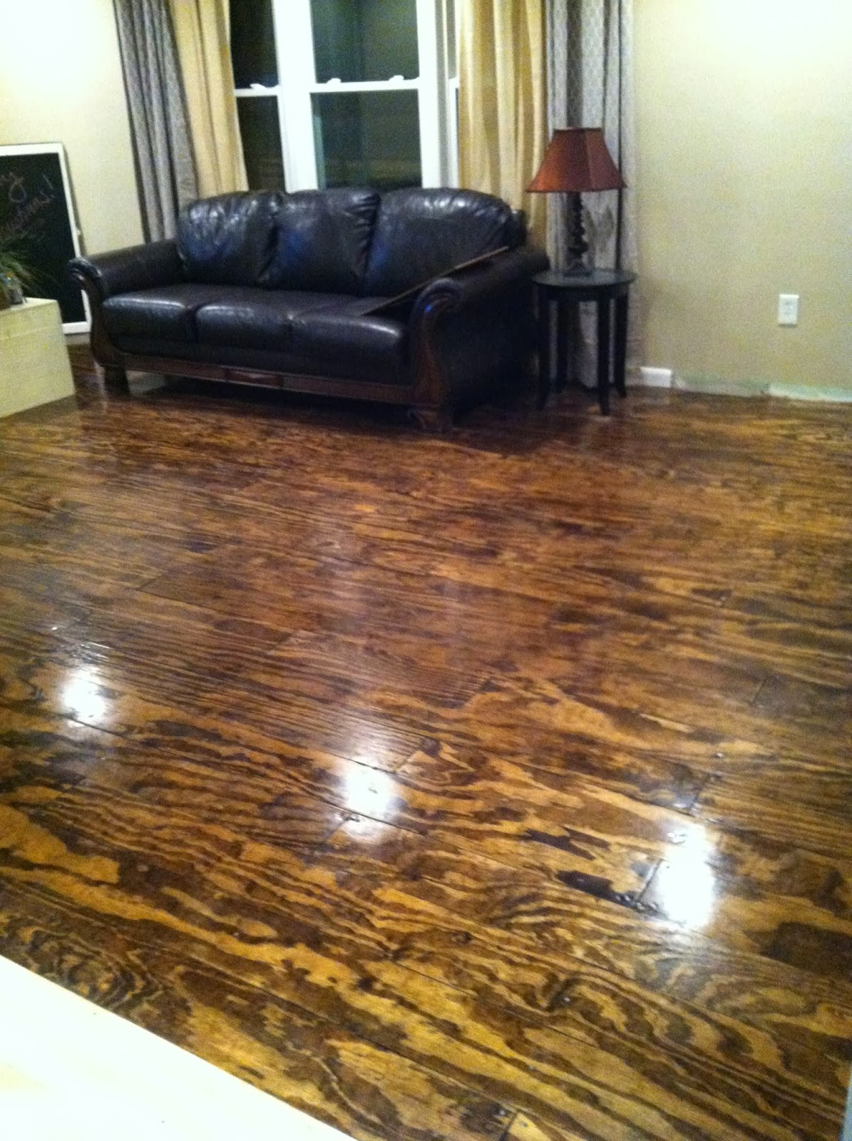 Bohall Blessings Plywood Floor Diy