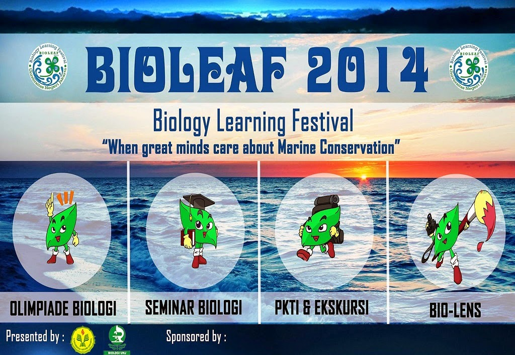 BIOLEAF (Biologi Learning Festival) 2014